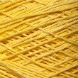 Yellow yarn skein — Stock Photo #35389629