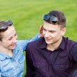 Happy young couple — Stock Photo #35389659