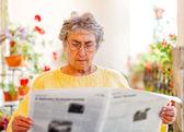 Elderly home care — Zdjęcie stockowe