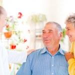 Elderly couple — Stock Photo #41274897