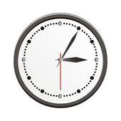 Reloj analógico — Vector de stock
