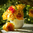 Stock Photo: Beautiful fresh flowers