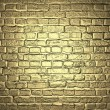 Gold background. Brick wall. Design template — Stock Photo #37934645