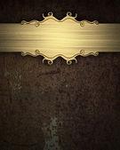 金带锈背景 — 图库照片