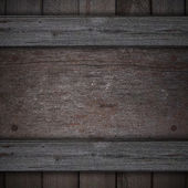 Wooden background. wooden nameplate — Stock Photo