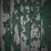 Green Cracked Paint Background. Green wood Background — Stockfoto