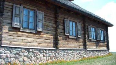 Village de kosava, bélarus — Video Stock