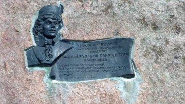 Monument of Andrew Tadeusz Kosciuszko — Stock Video
