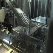 Stock Video: Automated production of medicines.