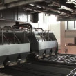 Stock Video: Automatic production of cheese.