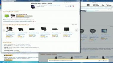Screen-display — Stockvideo
