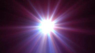 Light shining star — Stock Video