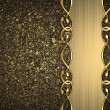 Gold background with a gold stripe patterned — Stock Photo #38365083