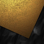 Beautiful gold and black background. Design template — Stock Photo