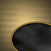 Golden texture with black neck. template for design — 图库照片
