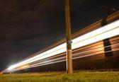 Night express — Stock Photo