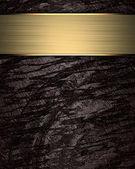Brązowym tle z niebieskim tabliczka do pisania. — Zdjęcie stockowe