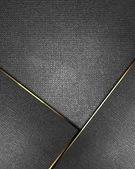 Fondo metálico con placa de metal para la escritura. — Foto de Stock
