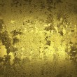 Old gold wall ( Textured gold background ) — Stock Photo