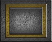 σιδήρου φόντο με πινακίδα σιδήρου για το γράψιμο — Φωτογραφία Αρχείου