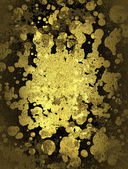 Design template - Abstract gold background — Стоковое фото