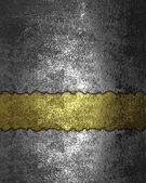Template for design. Grunge rift gold Texture — Stock Photo