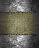Template for design. Grunge rift iron Texture — Stock Photo