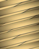 Design template - Gold braided texture with golden edges — Stock Photo