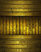 Golden background with stripes — Stock Photo