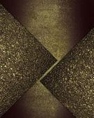 Grunge bakgrund med guld skär av gyllene sand — Stockfoto