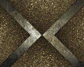 Grunge pozadí zlatem vloží zlatého písku — Stock fotografie