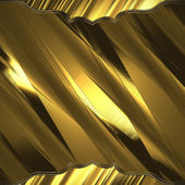 Golden abstract background with abstract edges — Stock Photo