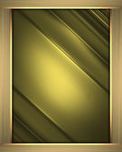 Business elegant gold abstract background on gold frame. — Foto Stock