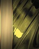Golden gewellten hintergrund mit einer gold-platte. template-design. — Stockfoto