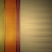 Multi-colored background from stripes, with gold background. — Stock Photo