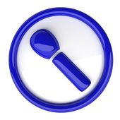 Microphone icon (microphone Icon) — Stock Photo