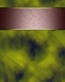 Dark green background with a brown stripe — Photo