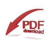 Pdf файл скачать иллюстрация — Стоковое фото