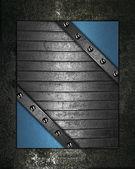 Grunge black background or gray background — Stock Photo