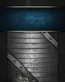 Grunge black background or gray background — Stockfoto