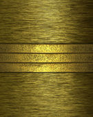 Abstract golden grunge background with gold stripes grunge — Stock Photo