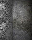 Grunge Concrete background with grunge rusty metal edges. — Stock Photo