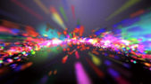 Abstract colorful background (Color Particles). — Stock Photo