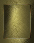 Gold background with gold leaf paper. Design template — Stock Photo