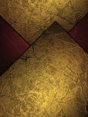 Abstract background with gold plates. — Stockfoto