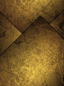 Abstract background with gold plates. — 图库照片