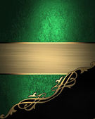 Green and gold texture — Stock Photo
