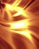 Red texture with golden waves. Template for design — Foto Stock