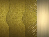 Abstract golden background of the bands matter — Stock Photo