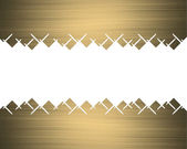 Gold frame with abstract edges — Stock Photo